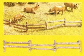 Noch Uneven Field Fence Kit (12 Pieces) N Scale Model Railroad Accessory #33030