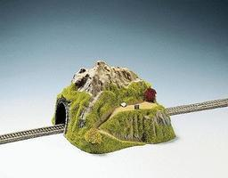Noch Single Track Straight Tunnel w/Park N Scale Model Railroad Tunnel #34640
