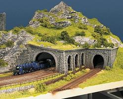Noch 3-Arch Broken Stone Arcade N Scale Model Railroad Scenery #34942