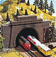 Noch Straight Interior Tunnel Walls (2) HO Scale Model Railroad Tunnel #58030