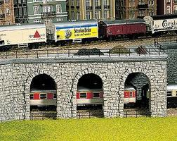 Noch Quarry Stone Arcade Wall HO Scale Model Railroad Scenery #58260