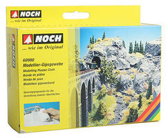 Noch Plaster Cloth Roll (2) Model Railroad Scenery Supply #60980