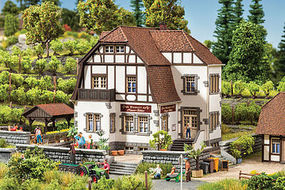 Noch Winery Hauser-Buhler Kit N Scale Model Railroad Building #63712