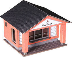 Noch Commercial HO Scale Model Railroad Buildings