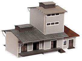 Noch Warehouse (Laser-Cut Card Kit) HO Scale Model Buildng #66110