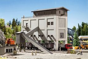 Noch Gravel Plant (Crusher House) Laser-Cut Kit HO Scale Model Structure #66304