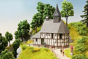 Noch Mary Magdalene Chapel School Kit HO Scale Model Building #66904