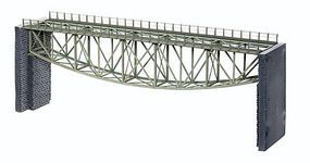 Noch Steel Fishbelly Truss Bridge Kit (14-3/16) HO Scale Model Railroad Bridge #67027