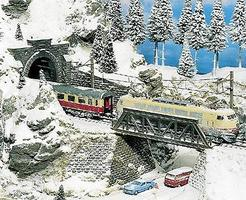 Noch Powdered Snow Model Railroad Grass Earth #8750