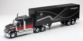 New-Ray Intl LoneStar w/Dry Van Trailer Diecast Model Truck 1/32 scale #10183