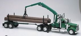 New-Ray Kenworth W900 w/Log Hauler Trailer Color Will Vary Diecast Model Truck 1/32 scale #13743