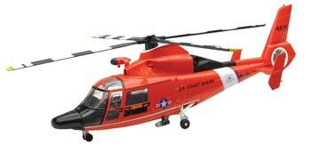 New Ray Toys Dauphin HH-65C -- Diecast Model Helicopter -- 1/48 scale -- #25907