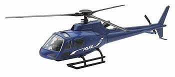 New Ray Toys Eurocopter AS350 Police -- Diecast Model Helicopter -- 1/43 scale -- #26093a