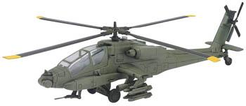 New Ray Toys Apache -- Diecast Model Helicopter -- 1/32 scale -- #61475