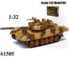 New-Ray Classic Model Tank Kit B/O Tiger Plastic Model Tank Kit 1/32 Scale #61525