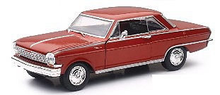New Ray Toys 1/24 1964 Chevy Nova SS Car (Die Cast)