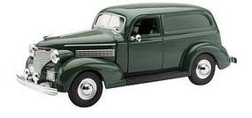 New-Ray 1939 Chevy Sedan Delivery Green Diecast Model Car 1/32 scale #ss-55053
