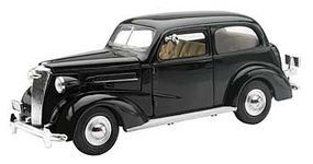 New-Ray 1937 Chevrolet Master Deluxe Town Sedan Black Diecast Model Car 1/32 scale #ss-55183