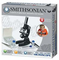 NSI Smithsonian 150x/450x/900x Microscope Kit
