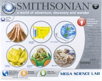 NSI Smithsonian Mega Science Lab Kit