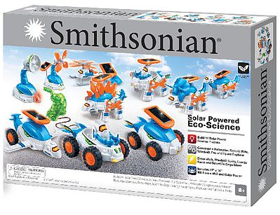 NSI Smithsonian Eco-Science Solar Powered Kit (Build 10 Projects)