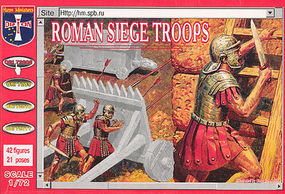 Orion Roman Siege Troops (42) Plastic Model Military Figure 1/72 Scale #72008