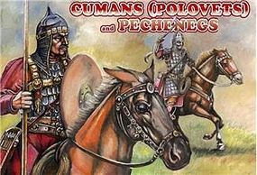 Orion Cumans (Polovets) & Pechenegs (12 Mounted) Plastic Model Military Figure 1/72 Scale #72034