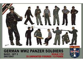 Orion 1/72 WWII German Panzer Soldiers Set #2
