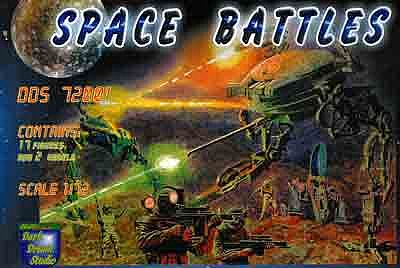 Orion Figures Space Battles Walker Warmachine Armadill & Cyborg -- Platic Model Figure -- 1/72 Scale -- #dds72001