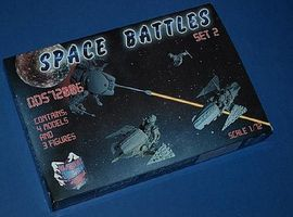 Orion Space Battles Set 2 Flying and Unmanned Aerial Vehicles Plastic Model Figure 1/72 #dds72006
