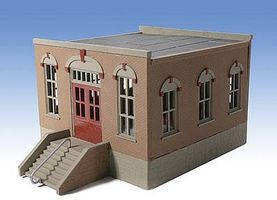 O-Gauge Real Estate 1-Story Building Kit O Scale Model Railroad Building #301