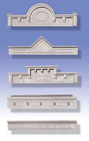 O-Gauge Cornices (5 Different) O Scale Model Railroad Building Accessory #32