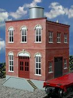 O-Gauge Acme Machine Co. 2-Story Building Kit O Scale Model Railroad Building #442