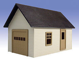 O-Gauge Garage Kit O Scale Model Railroad Building #505