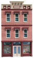 O-Gauge O Ameri-Towne- Bills Place Building Front Only