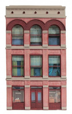O-Gauge Railroading O Ameri-Towne- Burke Building Front Only