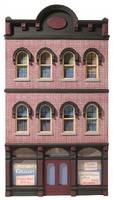 O-Gauge O Ameri-Towne- Granatos Grocery Building Front Only