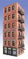 O-Gauge Midtown Hotel 6-Story Building Kit O Scale Model Railroad Building #942