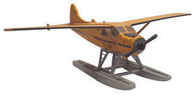 Osborn DHC-2 Beaver Plane (wooden kit) HO Scale Model Railroad Vehicle #1073