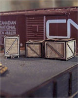 Osborn Crates Kit N Scale Model Railroad Building Accessory #3065(wooden kit)