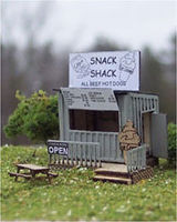 Osborn Snack Shack N Scale Model Railroad Building Kit #3072