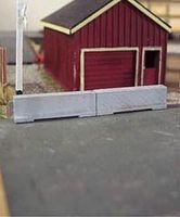 Osborn Concrete Barriers Kit N Scale Model Railroad Road Accessory #3087(wooden kit)