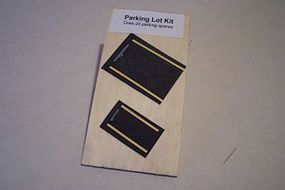 Osborn Parking Bumpers 20 pack (wooden kit) N Scale Model Railroad Road Accessory #3097