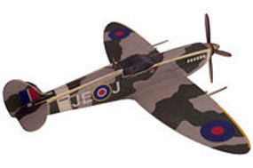 Osborn Spitfire Mark IX Wooden Plane Kit 1/66 Scale #6020