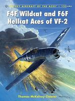 Osprey-Publishing Aircraft of the Aces - F4F Wildcat & F6F Hellcat Aces of VF2 Military History Book #aa125