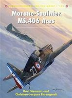 Osprey-Publishing Aircraft of the Aces - Morane-Saulnier MS-406 Aces Military History Book #ace121