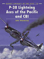 Osprey-Publishing P-38 Lightning Aces of the Pacific and CBI Military History Book #ace14