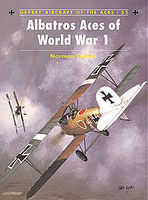 Osprey-Publishing Albatros Aces of WWI Military History Book #ace32