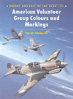 Osprey-Publishing American Volunteers Group Colors and Markings Military History Book #ace41