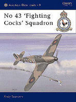 Osprey-Publishing No 43 Fighting Cocks Squadron Military History Book #aeu9